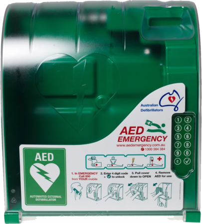 AED Non-Monitored Outdoor Cabinet - 200 Series