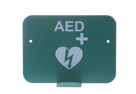Wall Bracket & AED sign