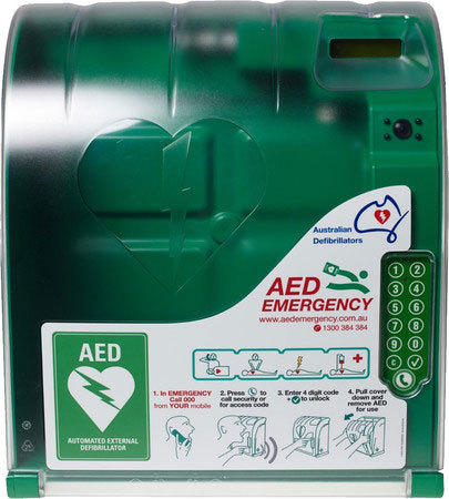 AED Monitored Outdoor Cabinet - 330 Series