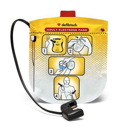 Defibtech Lifeline View Adult Defibrillation Pads