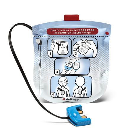 Defibtech Lifeline View Paediatric Defibrillation Pads (1-8 Years)